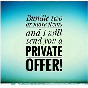 Bundle for an offer